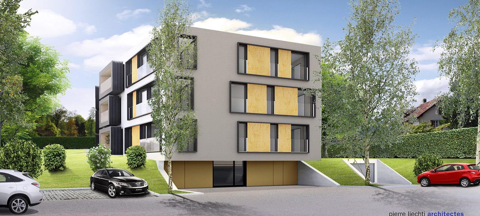 Cortaillod Rue des Vergers – Pierre Liechti & Associés